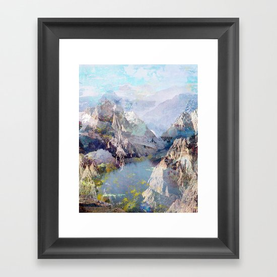 Untitled 20120323f (Landscape) Framed Art Print