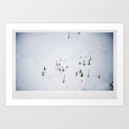 Snow #1 Art Print