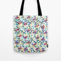 splatter Tote Bags featuring Splatter by Regan McDonell Design
