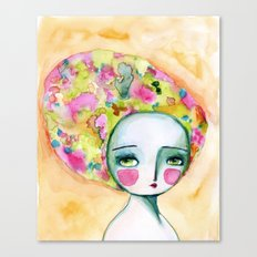 The Muse Of Summer Canvas Print