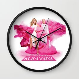 Project Runway Wall Clock