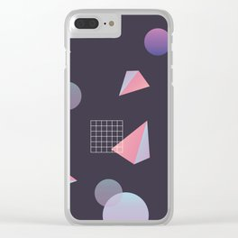Infinite Holo - grow Clear iPhone Case