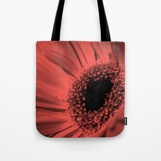Gerbera flower . Tote Bag