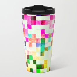 GROWN UP PIXELS Metal Travel Mug