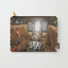 Grand Central Terminal in Digital Oils Carry-All Pouch