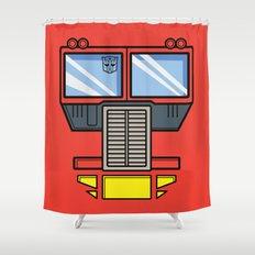 Transformers - Optimus Prime Shower Curtain