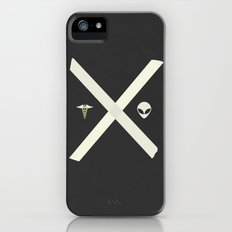 Mulder and Scully iPhone (5, 5s) Slim Case