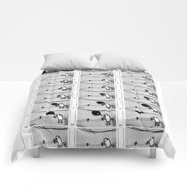 BALLOOON - flipbook/flickbook print Comforters