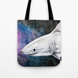 Galaxy Shark Tote Bag