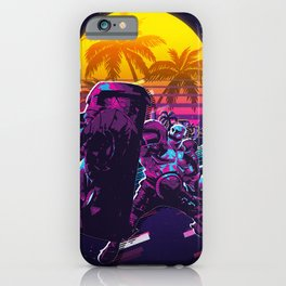 braum league of legends game 80s palm vintage iPhone Case