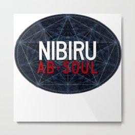 AB Soul Metal Print