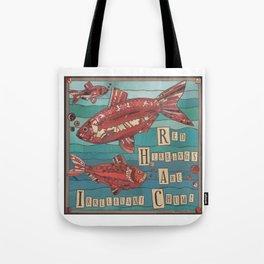 Red Herrings Tote Bag