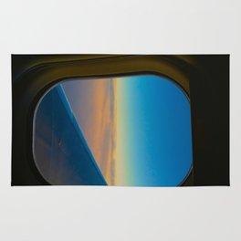 airplane dreaming Rug