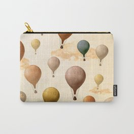 Voyagers Pattern Carry-All Pouch