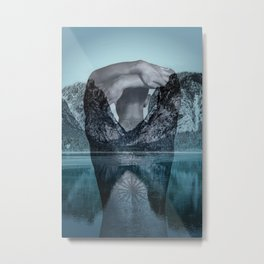 Under the surface Metal Print
