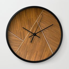 The Bamboo Architect Wall Clock