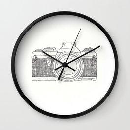 Vintage Camera 1.1 Wall Clock