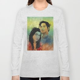Gidget and Nino Long Sleeve T-shirt