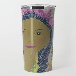 Warrior Spirit Zendaya Rose Travel Mug