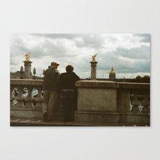 PARIS I - IN LOVE Canvas Print