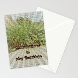 Coney Island is My Brooklyn Stationery Cards