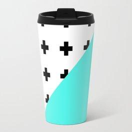 Memphis pattern 73 Travel Mug