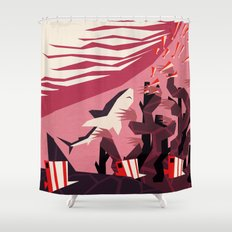 The daily commute Shower Curtain