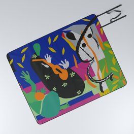 Matisse Cut Out Collage Picnic Blanket