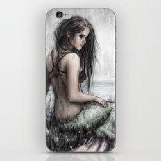 Mermaid's Rest iPhone & iPod Skin