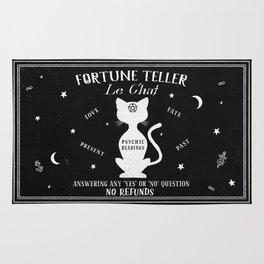 Fortune Teller Psychic Cat Rug