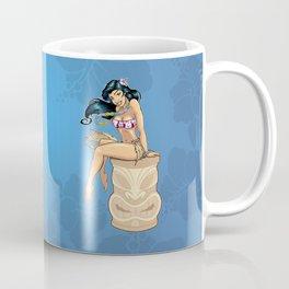 Hula Girl Coffee Mug