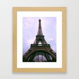 """La dame de fer"" - ""The Iron lady"" Framed Art Print"