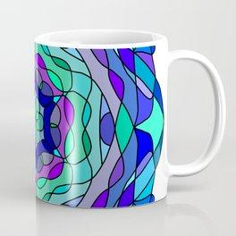 Blue Colorful Mandala Coffee Mug