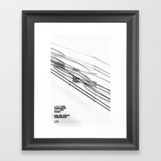 The Love Series 200 White Framed Art Print