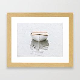Pamet Harbor Skiff Framed Art Print
