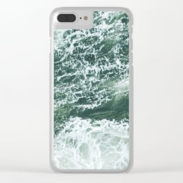 Oceans Clear iPhone Case