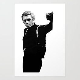 The Eternal Mcqueen Art Print