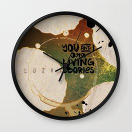 Your Cells are Living Libraries Wall Clock