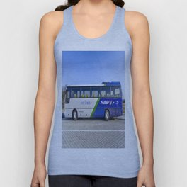 Malev Airlines Bus Unisex Tank Top