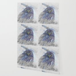 Artistic Animal Owl Wallpaper