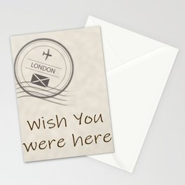I love the traditional means of communication.  The handwritten message when travel was not as easy. Stationery Cards