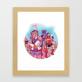 sailor killjoys Framed Art Print