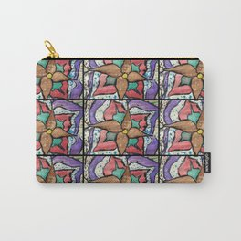 Winter flower tapestry Carry-All Pouch