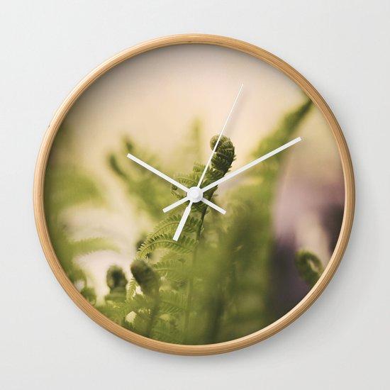 The Greening Wall Clock
