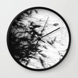 Dark Rain Wall Clock