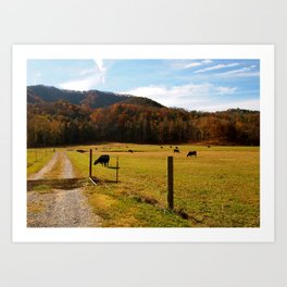 Tennessee Farm Art Print