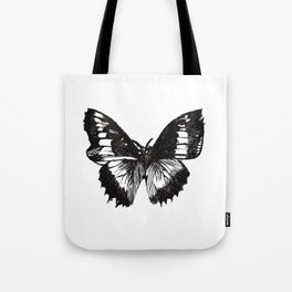 Butterfly Etch. Tote Bag