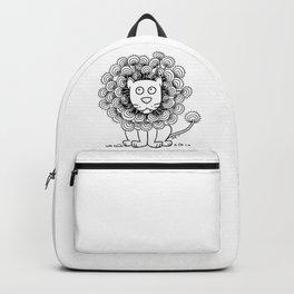 A Lion's mane Backpack