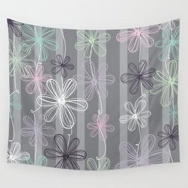 Flower Play Wall Tapestry