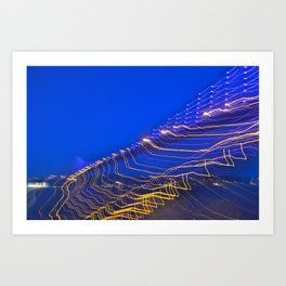 Ray Bridge  Art Print